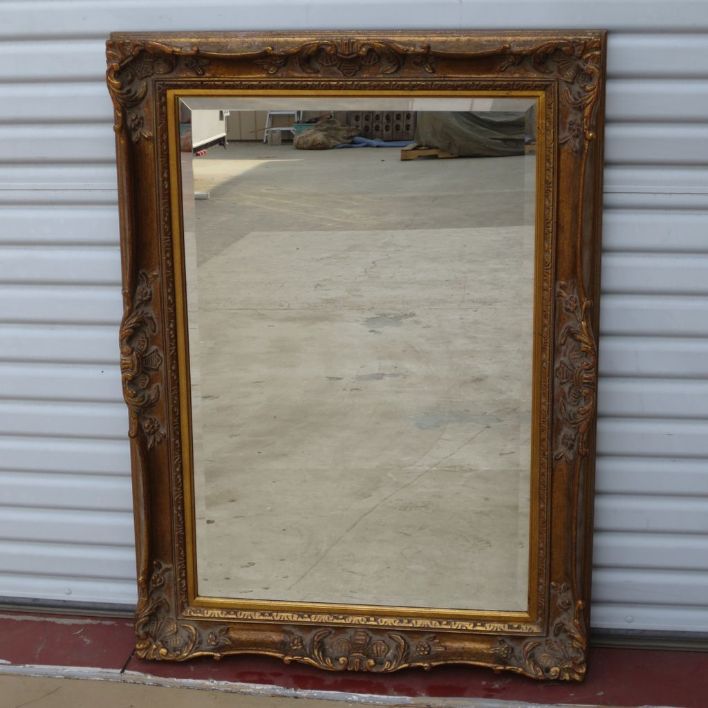 Image of: Vintage Wall Mirrors Paint