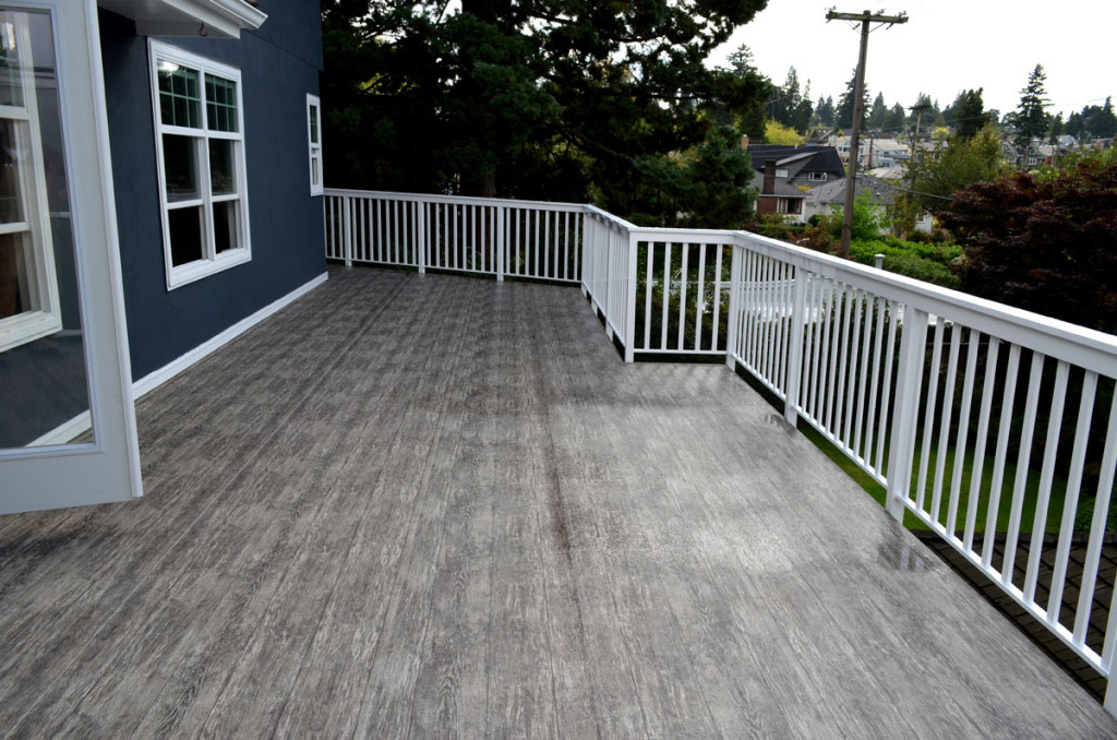 Image of: Vinyl Deck Covering Design