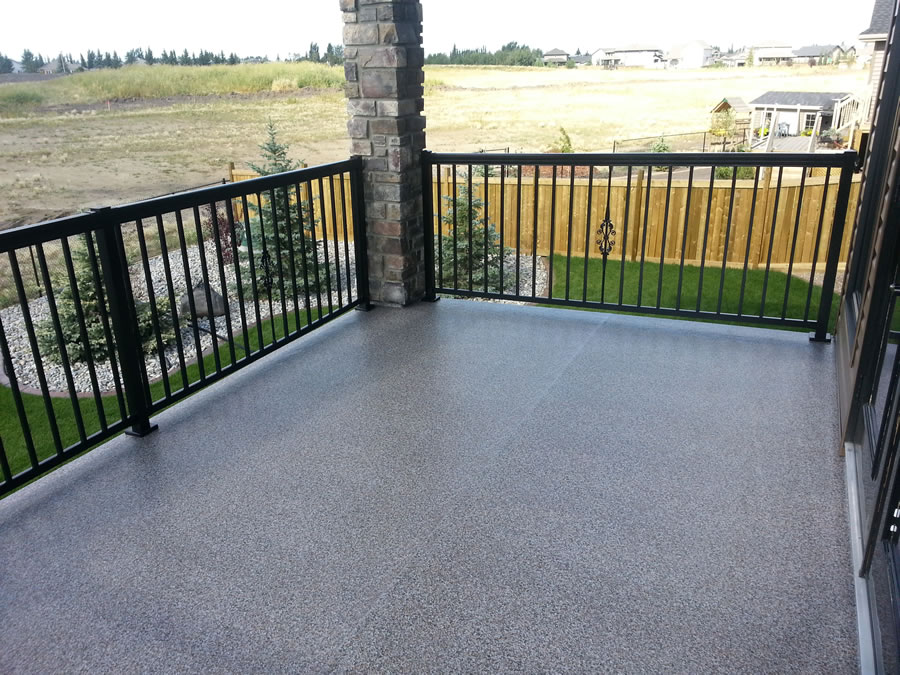 Image of: Vinyl Deck Covering Plan