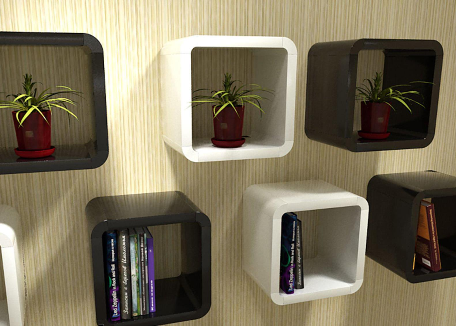 Image of: Wall Boxes Shelves