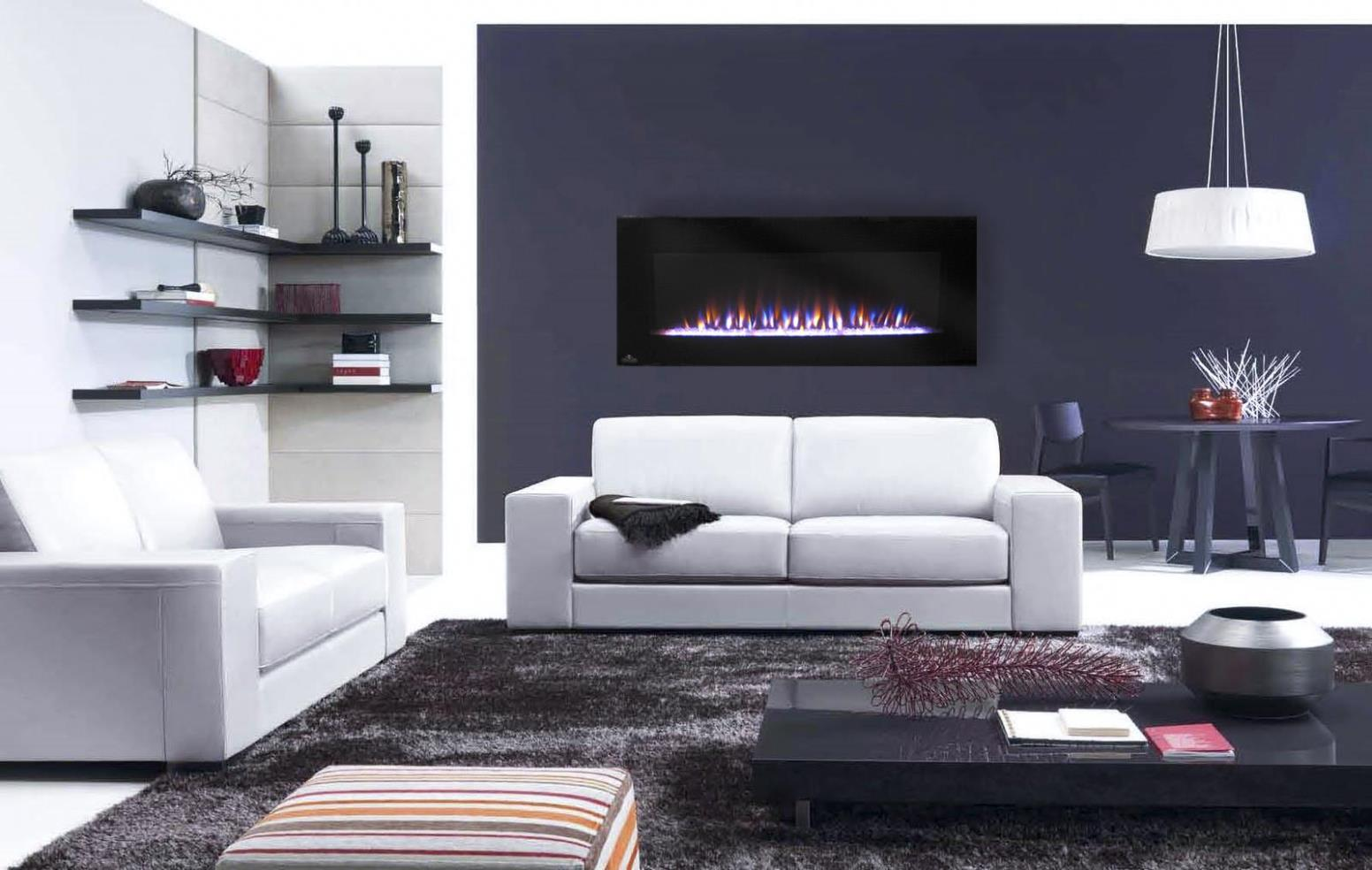 Image of: Wall Mounted Electric Fireplace Design Ideas