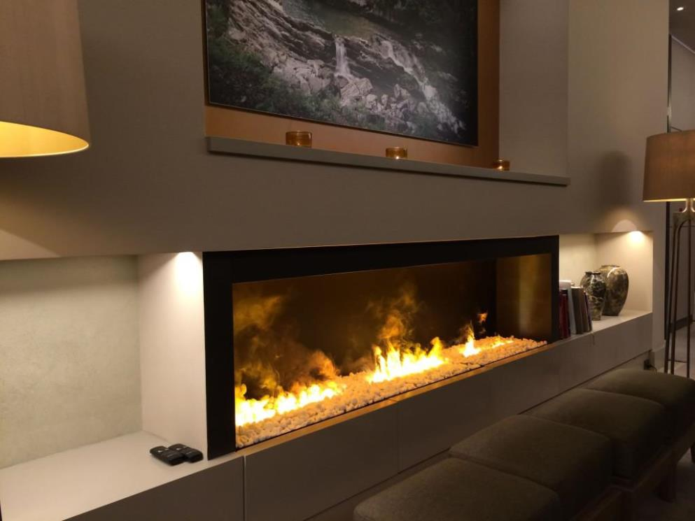 Image of: Wall Mounted Electric Fireplace Images