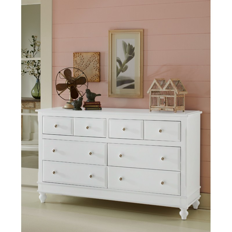 Image of: White Dresser With Mirror Lake House