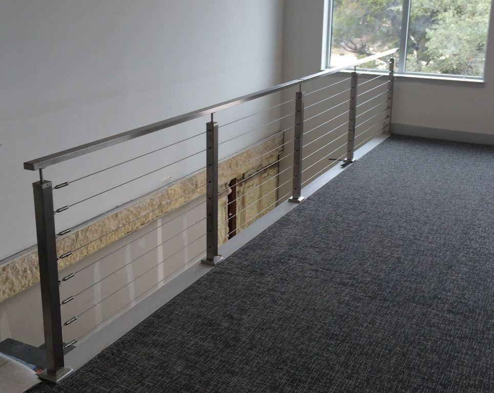 Image of: Wire Handrail Systems