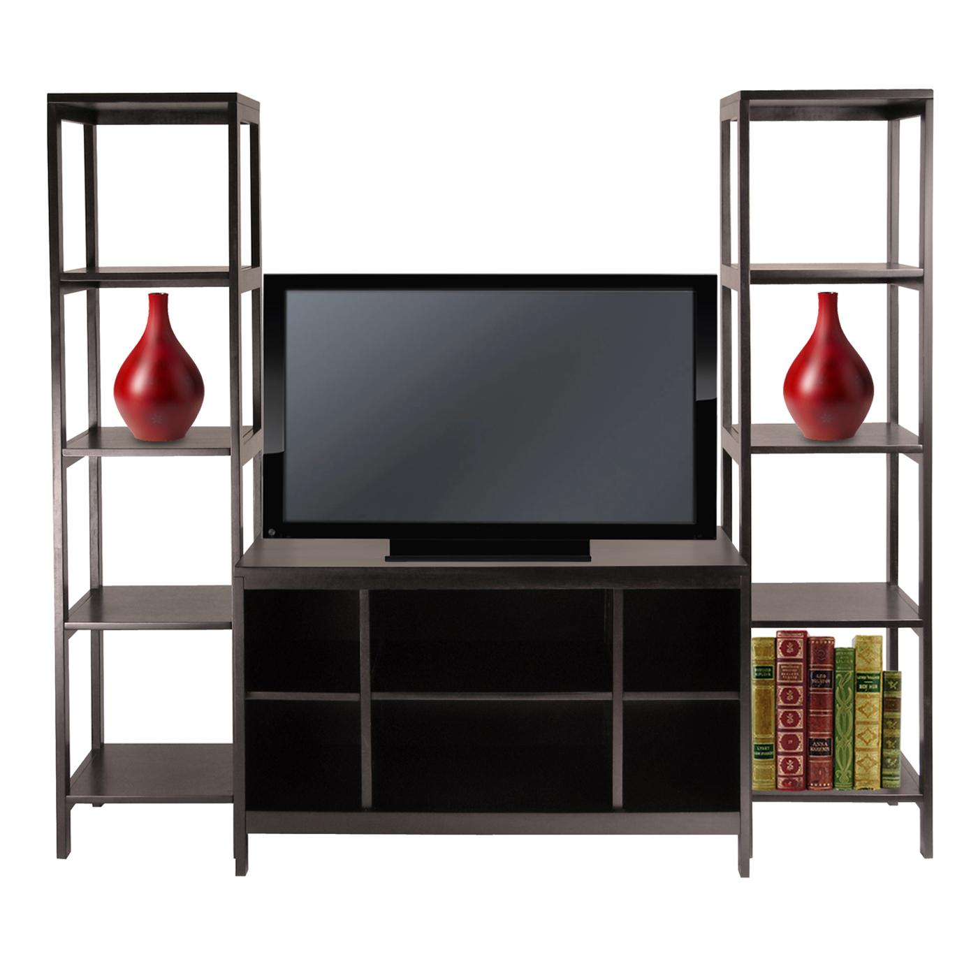 Image of: Wonderful Bookcase Tv Stand