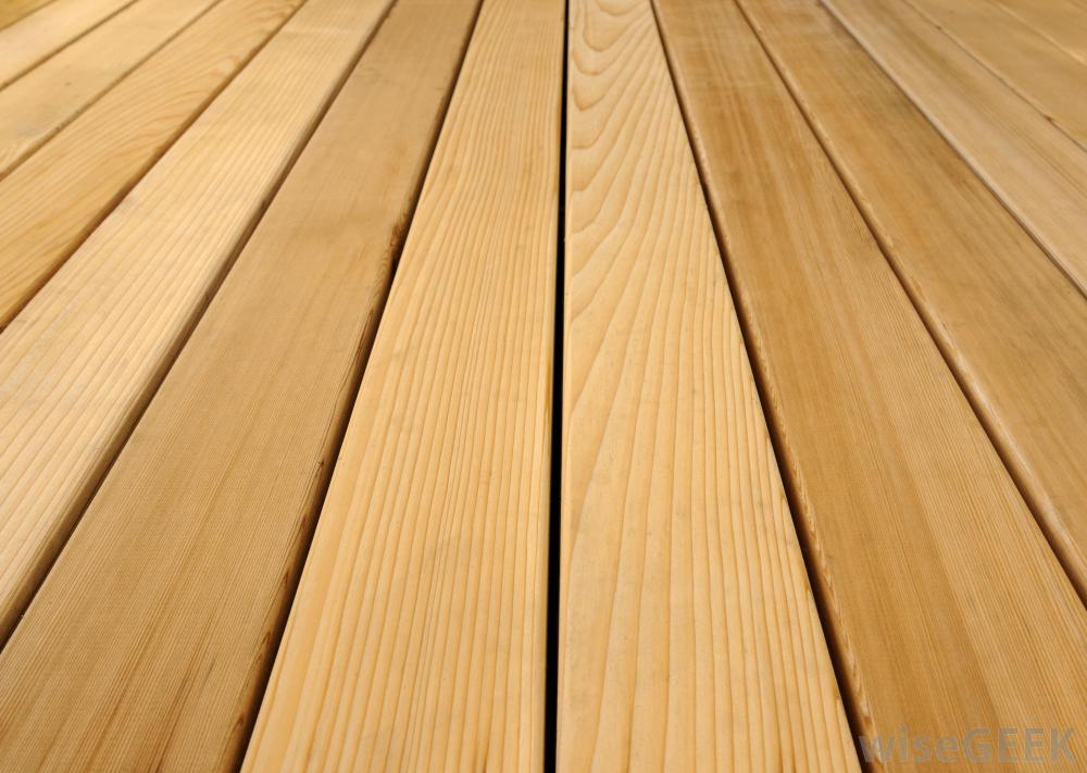 Wood Cedar Decking Boards