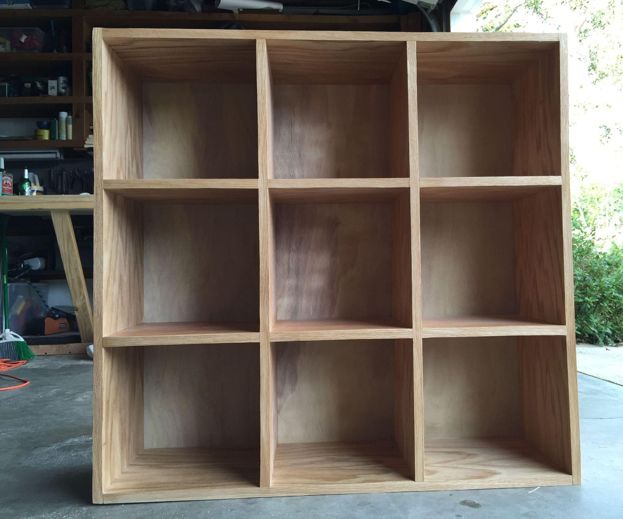 Image of: Wooden Cubby Shelves