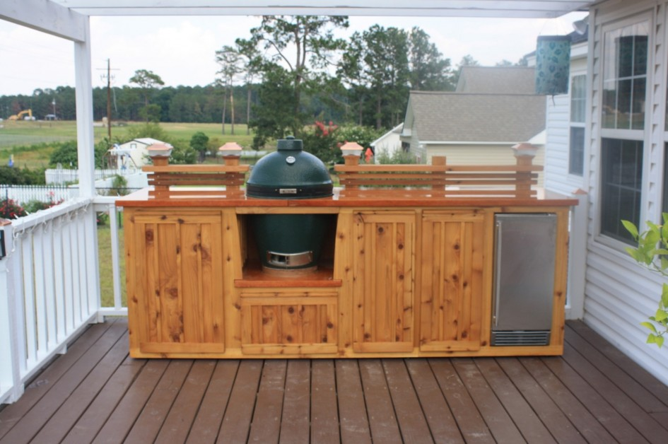 Wooden Deck Cooler Design