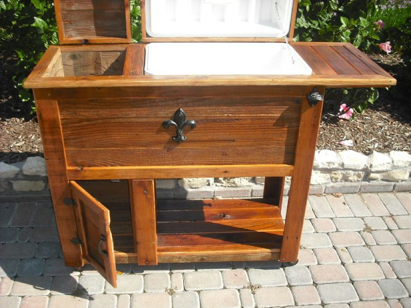 Image of: Wooden Deck Cooler Pictures