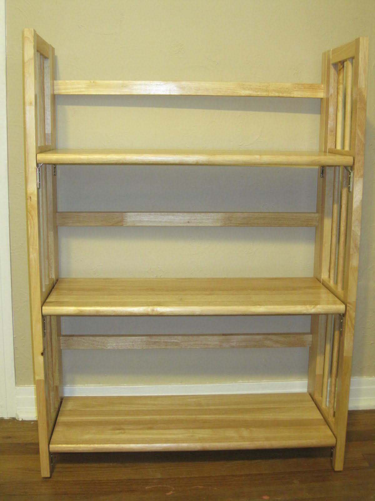 Wooden Folding Bookcase