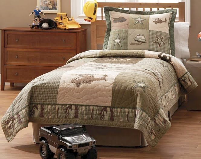 Image of: army Camouflage bedding