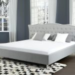 Awesome Gray Upholstered Headboard