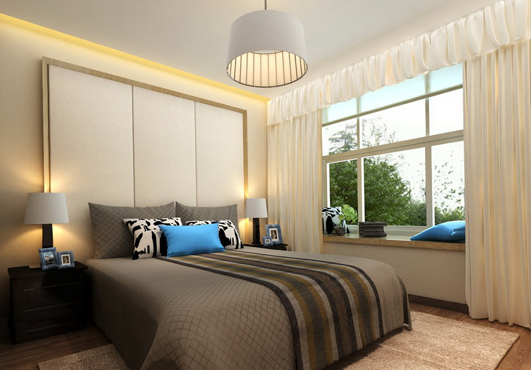 Image of: ceiling light fixtures for bedroom