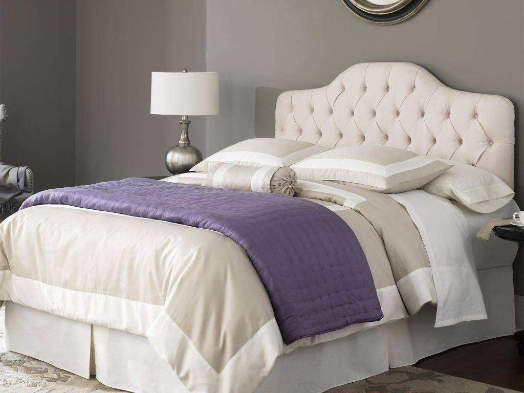 Image of: Classy King Tufted Headboard