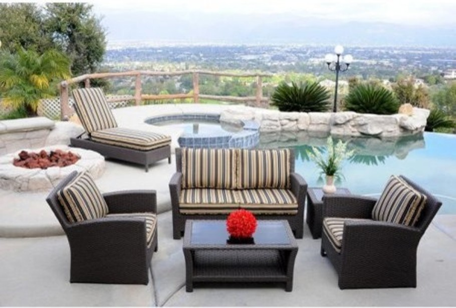 Image of: contemporary patio furniture and outdoor furniture