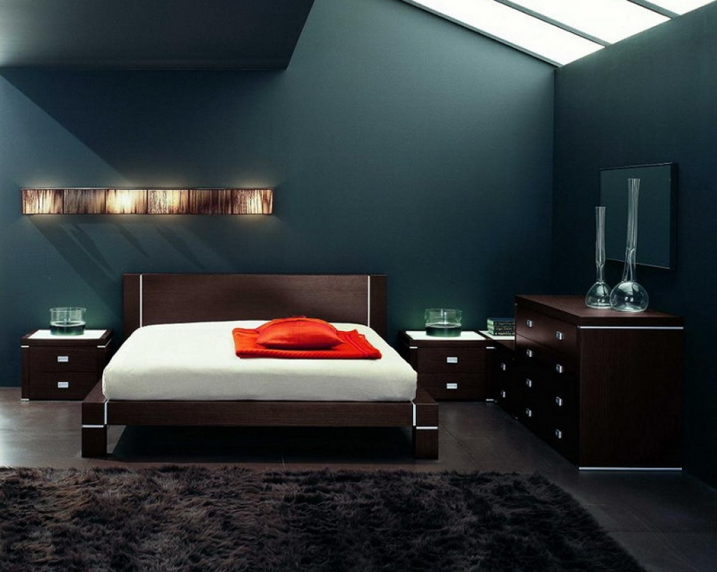 Image of: The Decorating Mens Bedroom Ideas