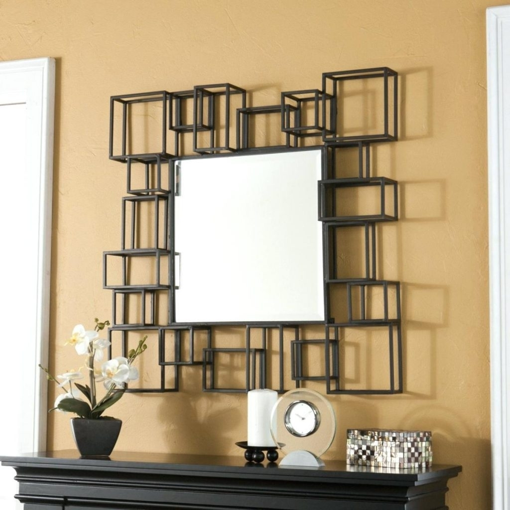 Image of: Excellent Big Wall Mirrors