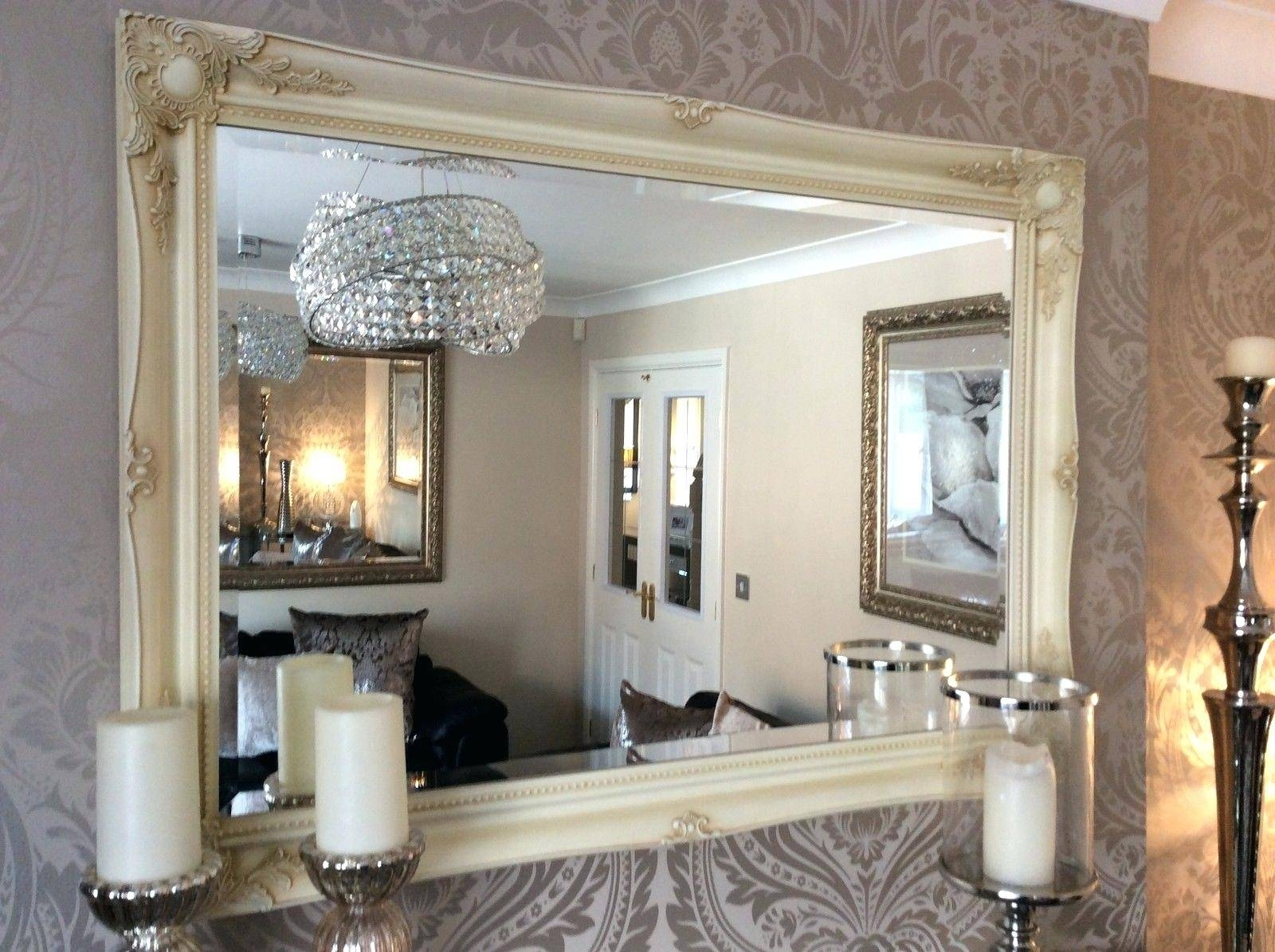 Image of: Good Big Wall Mirrors