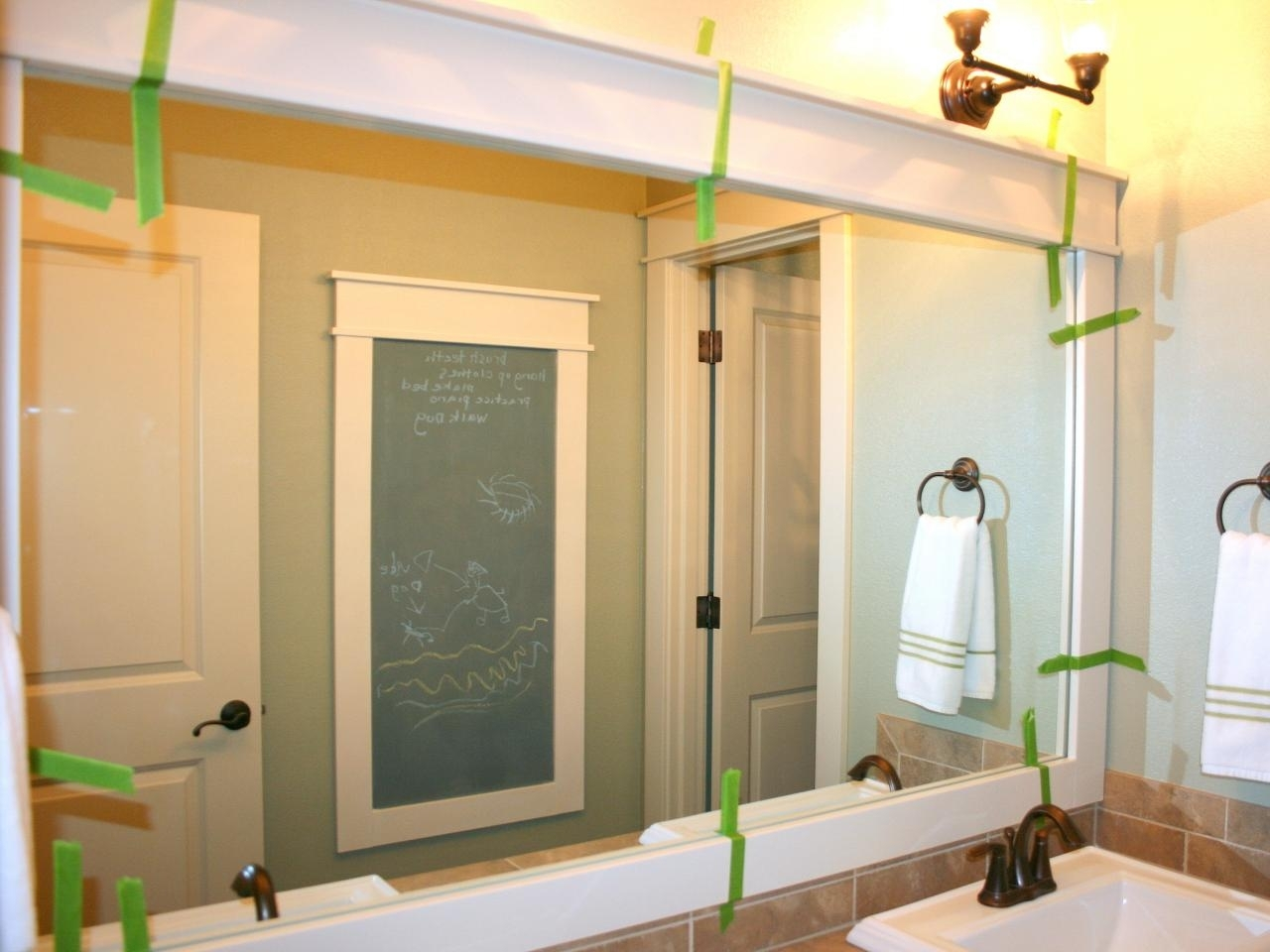 Image of: Great Bathroom Mirrors