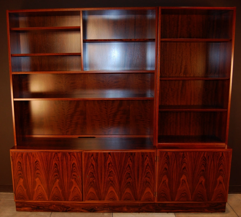 Image of: Excellent Mid Century Bookcase