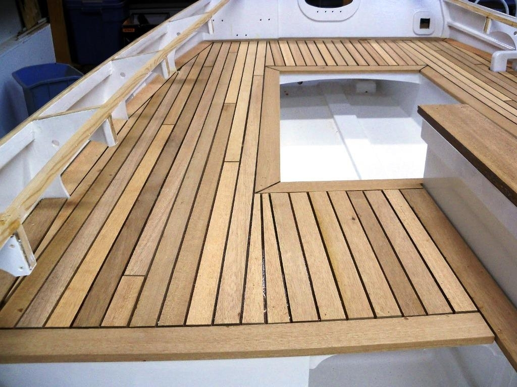 Image of: Latest Tongue And Groove Decking