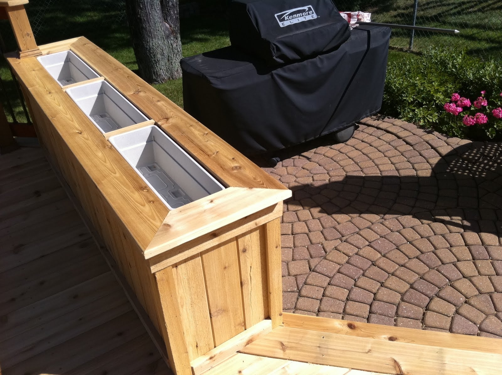 Image of: New Tongue And Groove Decking