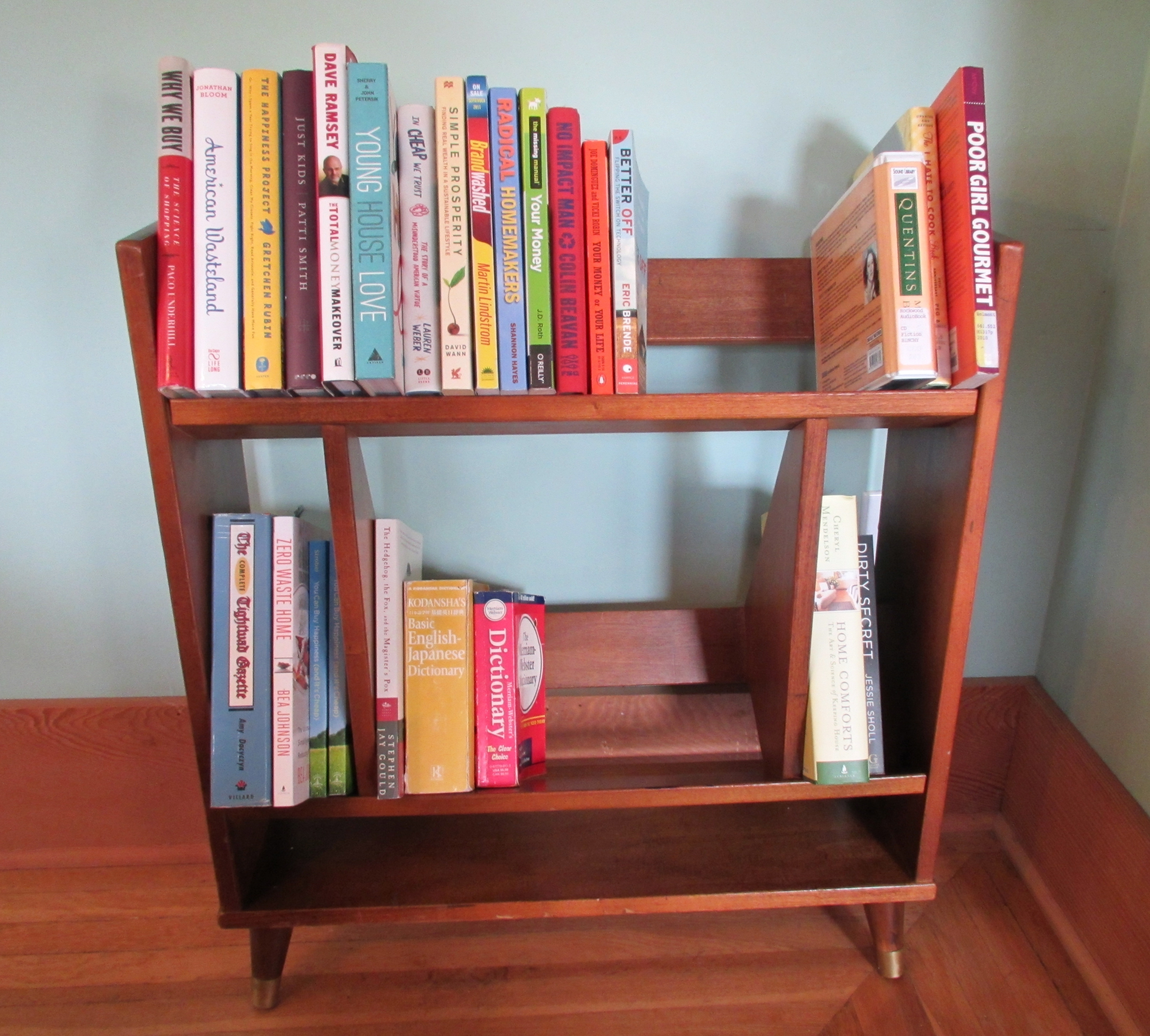 Image of: Nice Mid Century Bookcase