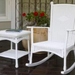 Wicker Rocking Chair Nursery