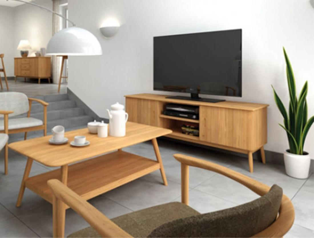 Image of: 3 Piece Living Room Set Wood