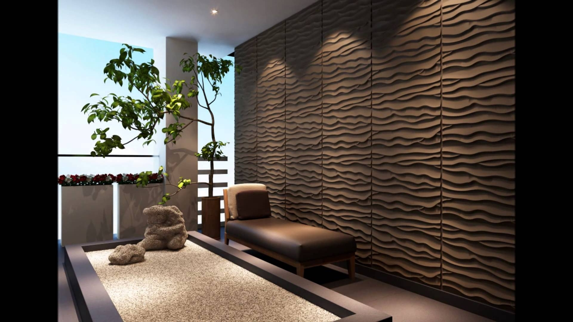 Image of: 3d Decorative Wall Panels Bedroom