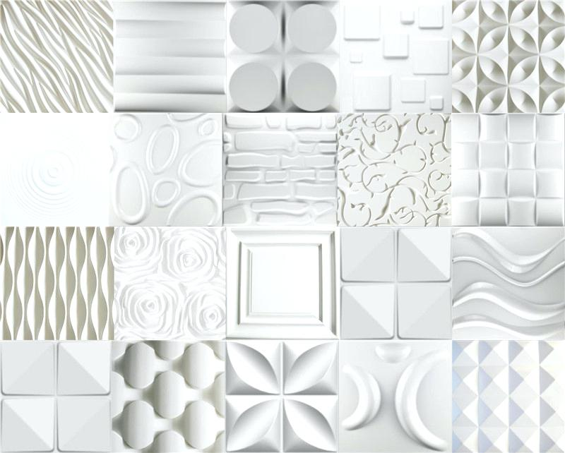 Image of: 3d Decorative Wall Panels Concrete