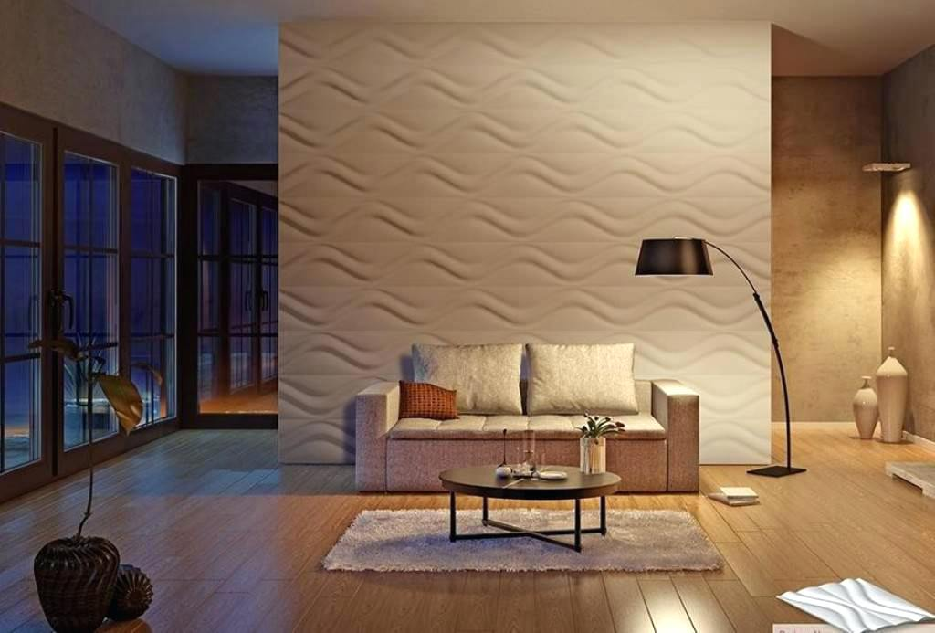 Image of: 3d Decorative Wall Panels Wood