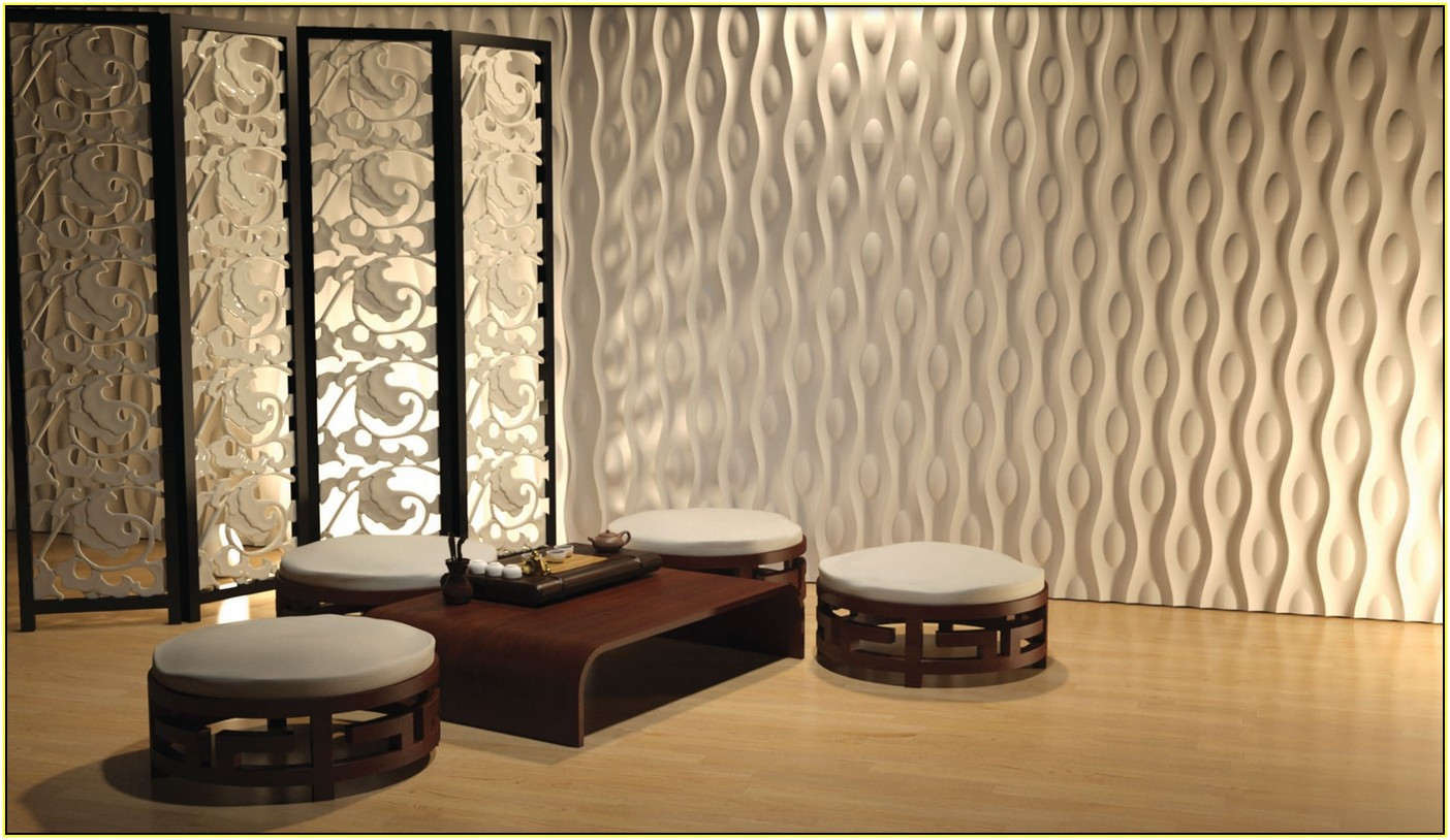 Image of: 3d Decorative Wall Panels for Interiors