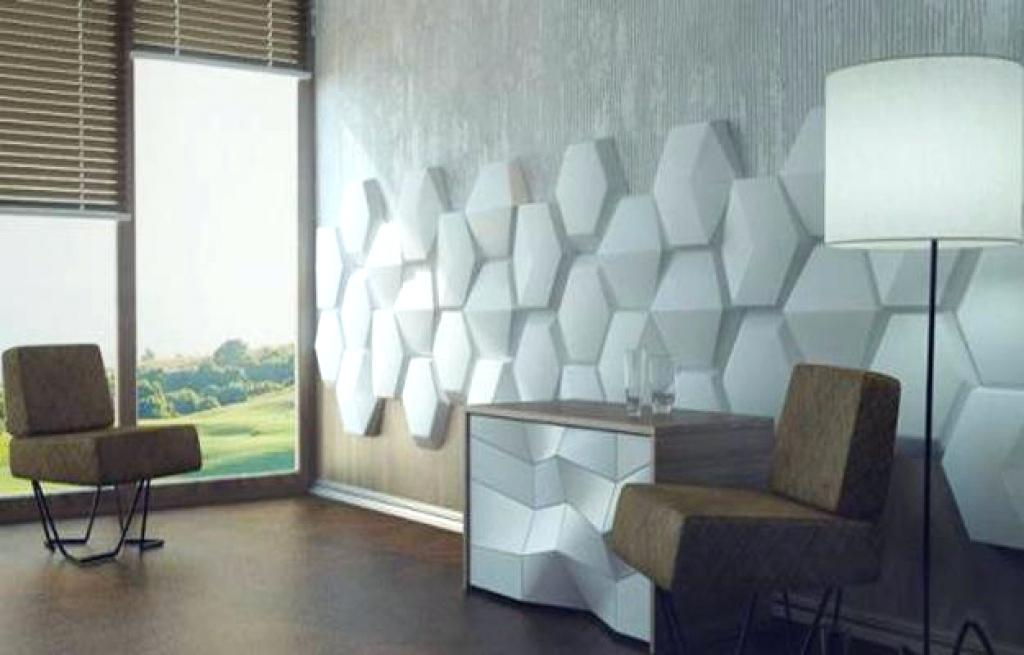 Image of: 3d Decorative Wall Panels for Kitchen