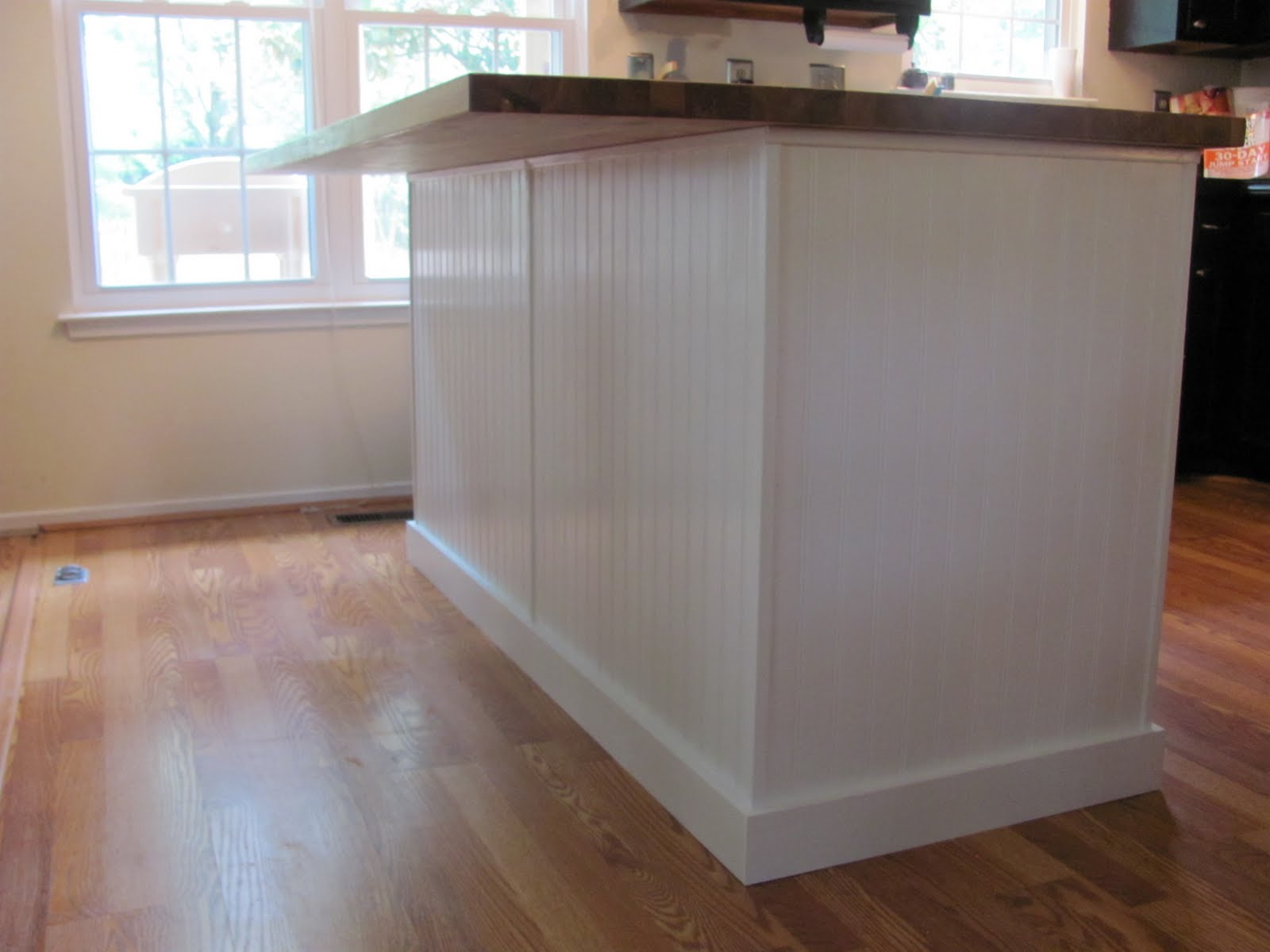 4x8 Wall Paneling Accent Wall