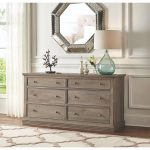 Antique Grey Dresser Decor