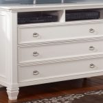 Antique White Dresser Chest