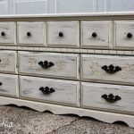 Antique White Dresser Drawers
