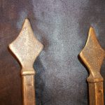 Antiqued Brass Curtain Rod Cool