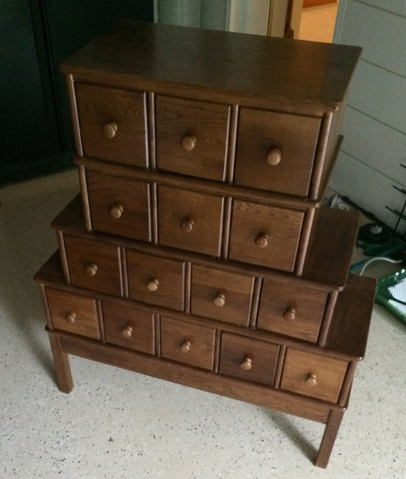Image of: Apothecary Dresser Legs