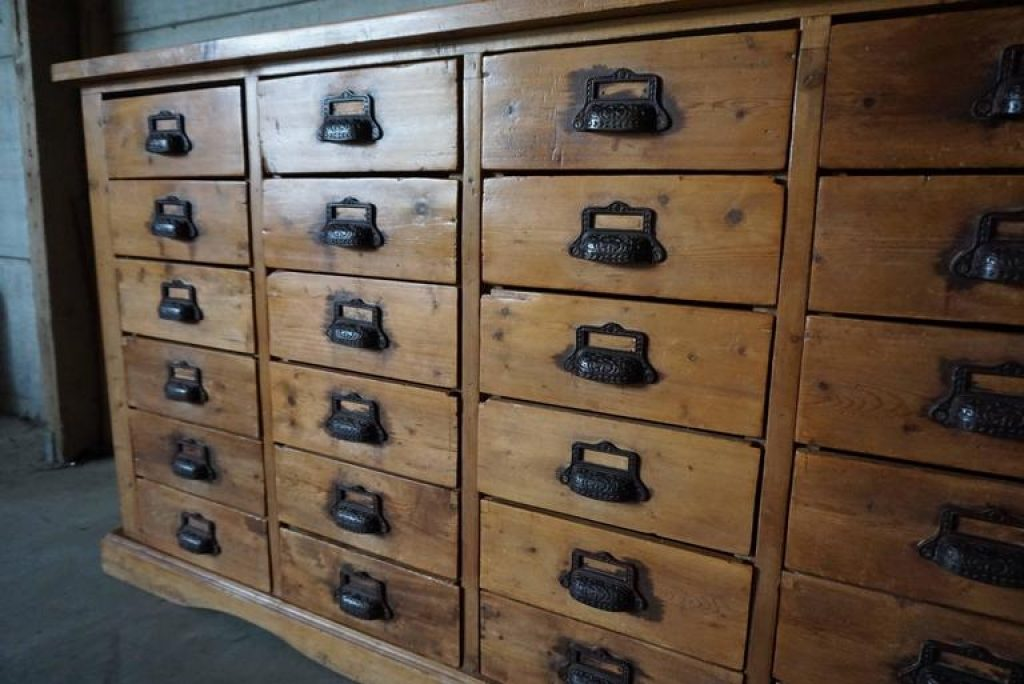 Image of: Apothecary Dresser Pine