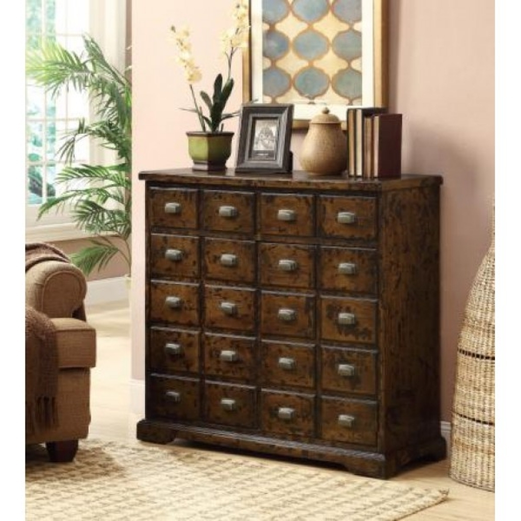 Image of: Apothecary Dresser Room