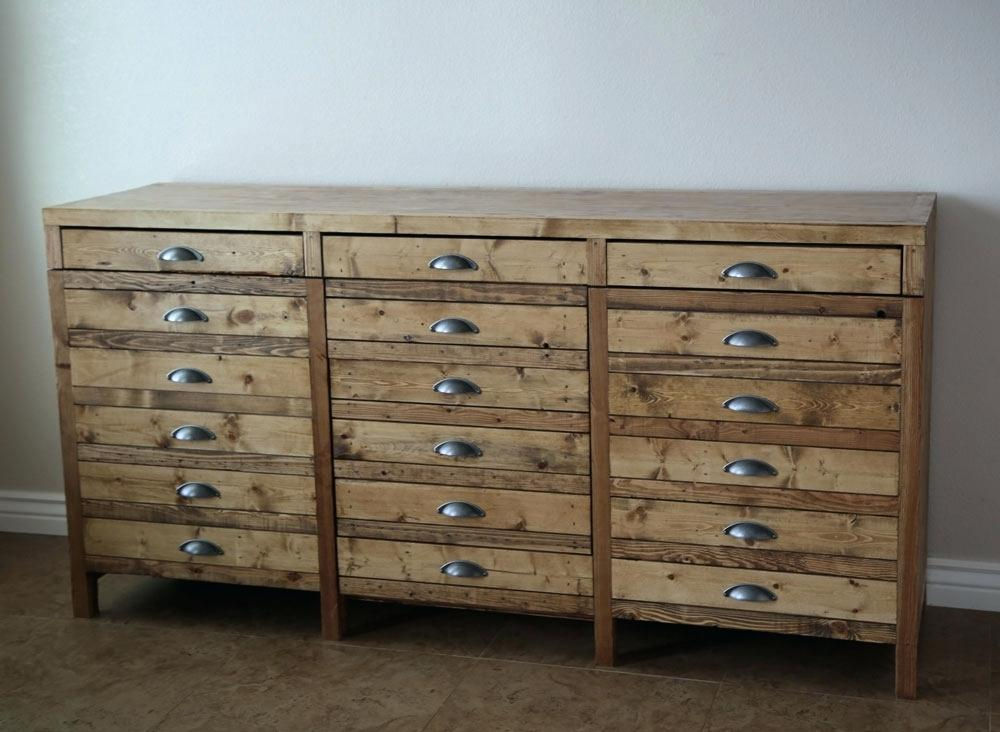 Image of: Apothecary Dresser Wide