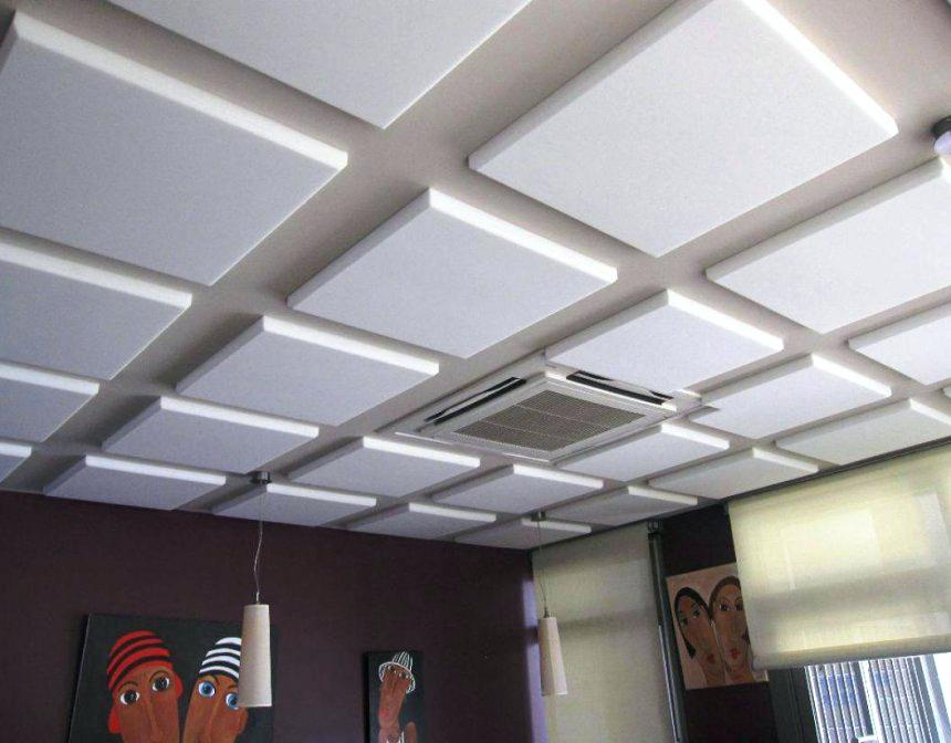 Image of: Asbestos Cement Soundproof wall panels
