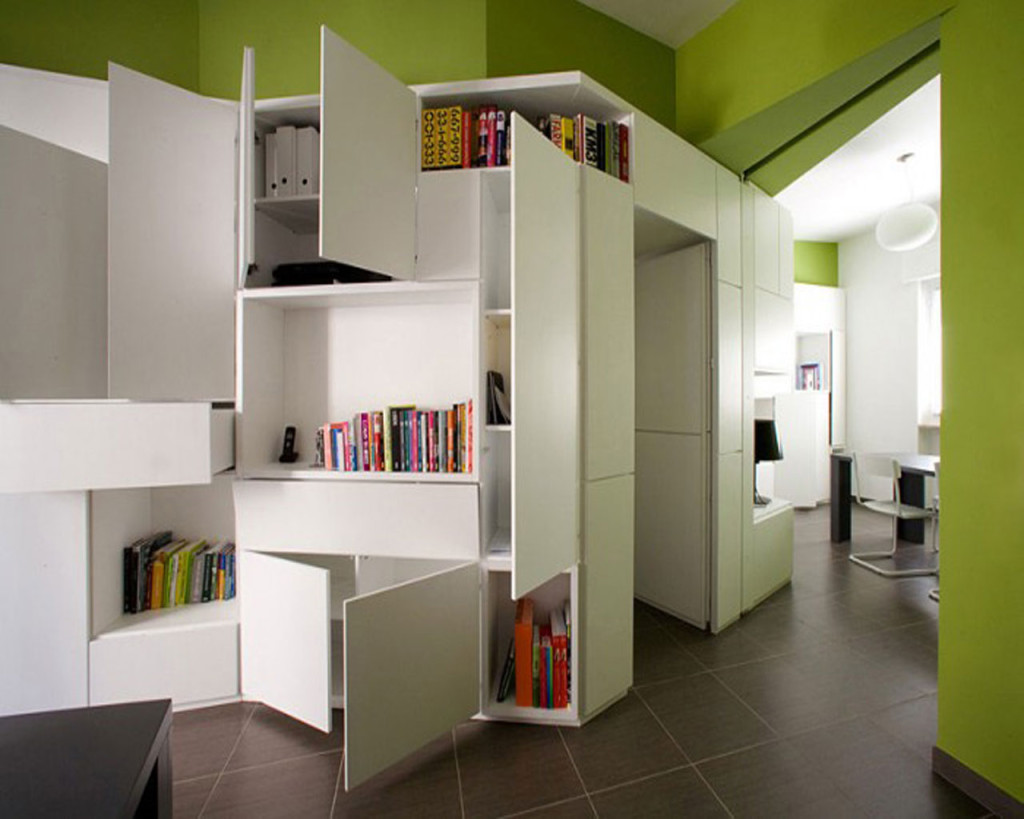 Attractive Small Apartment Storage Ideas