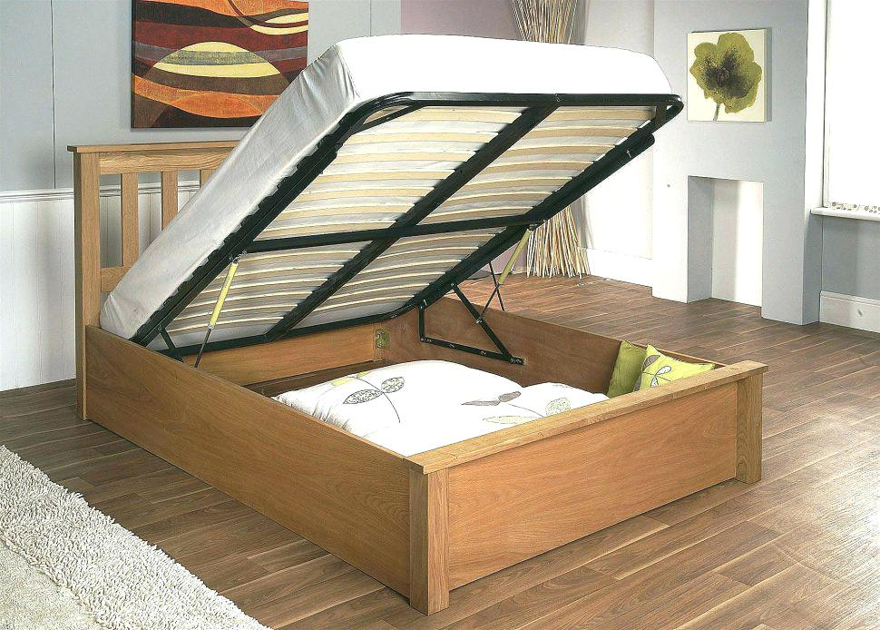 Image of: Awesome Bed Frame Storage