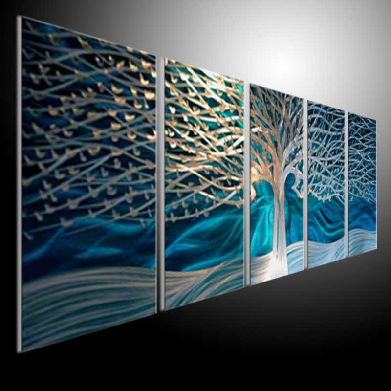 Awesome Metal Wall Art Panels Ideas