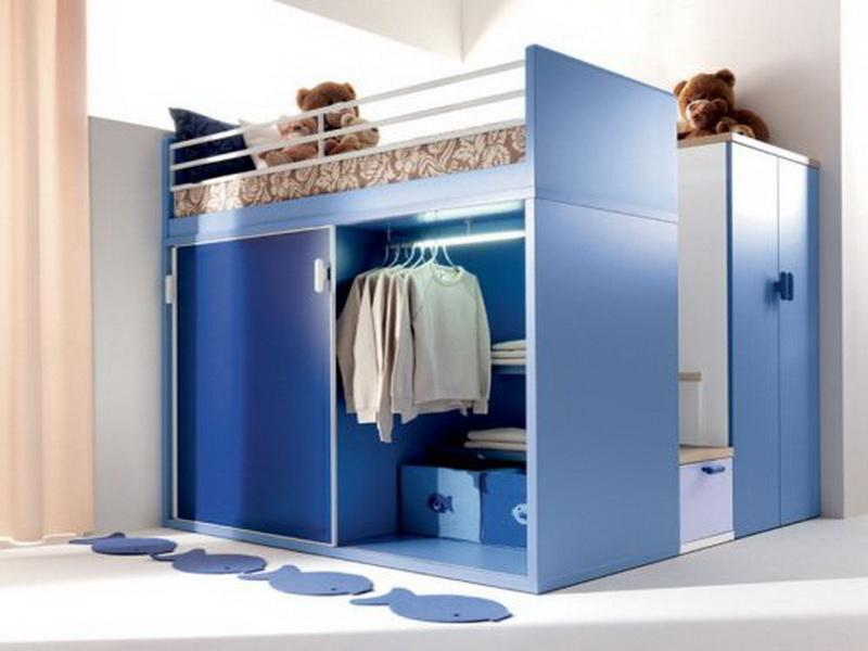 Image of: Awesome Small Bedroom Storage Ideas