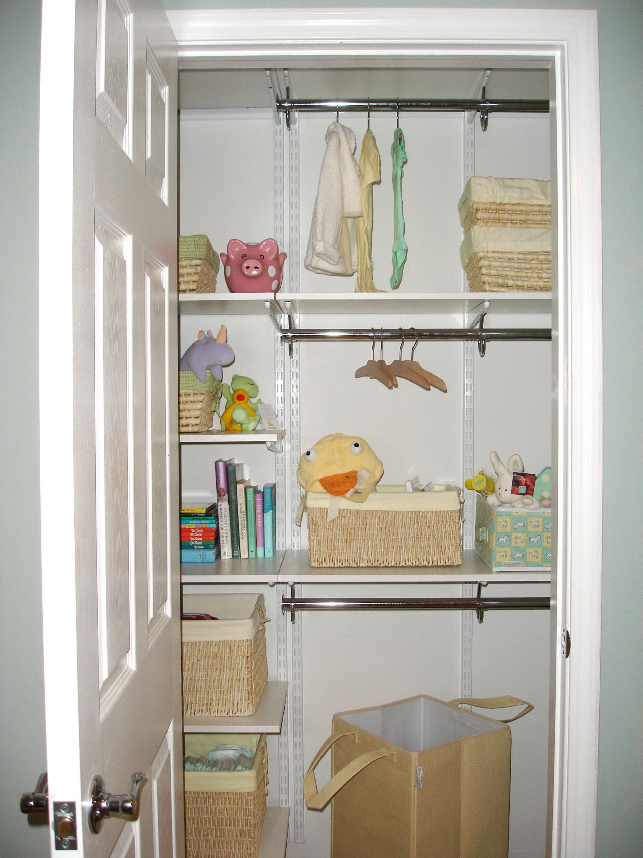 Image of: Baby Storage Ideas Small