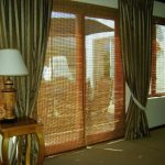 Bamboo Curtain Panel Rool
